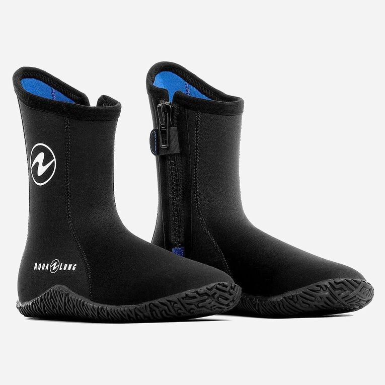 5mm Echozip Boots Youth, Black/Blue, hi-res image number 0