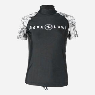 Aqua Rashguard Short Sleeve - Women