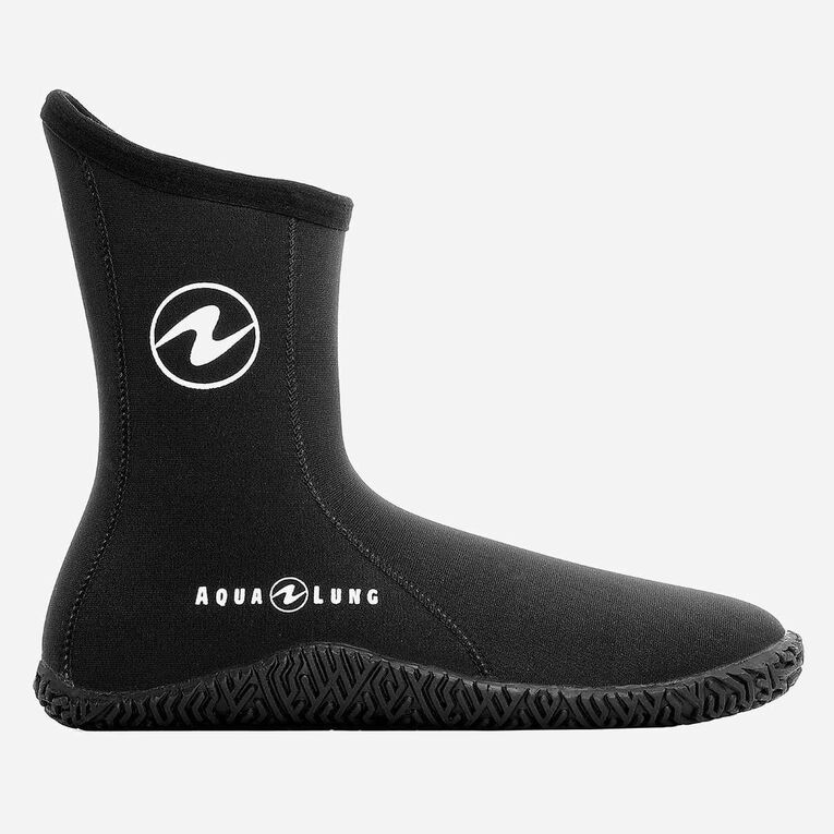 5mm Echozip Boots Youth, Black/Blue, hi-res image number 1