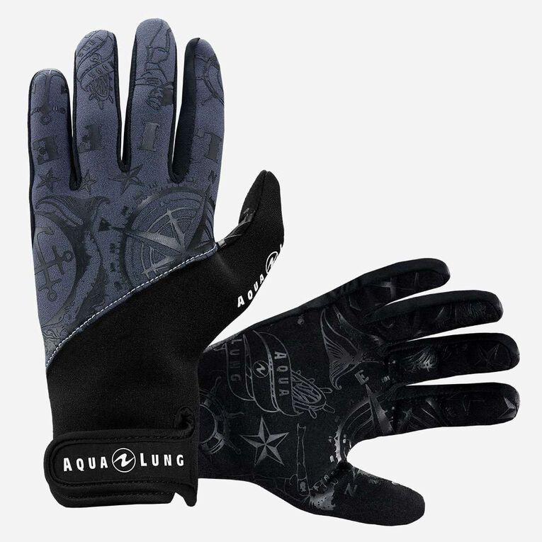 Admiral III 2mm Gloves, Dark grey/Black, hi-res image number 0