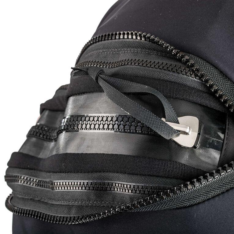 Fusion Xscape Drysuit, Black/Blue, hi-res image number 2