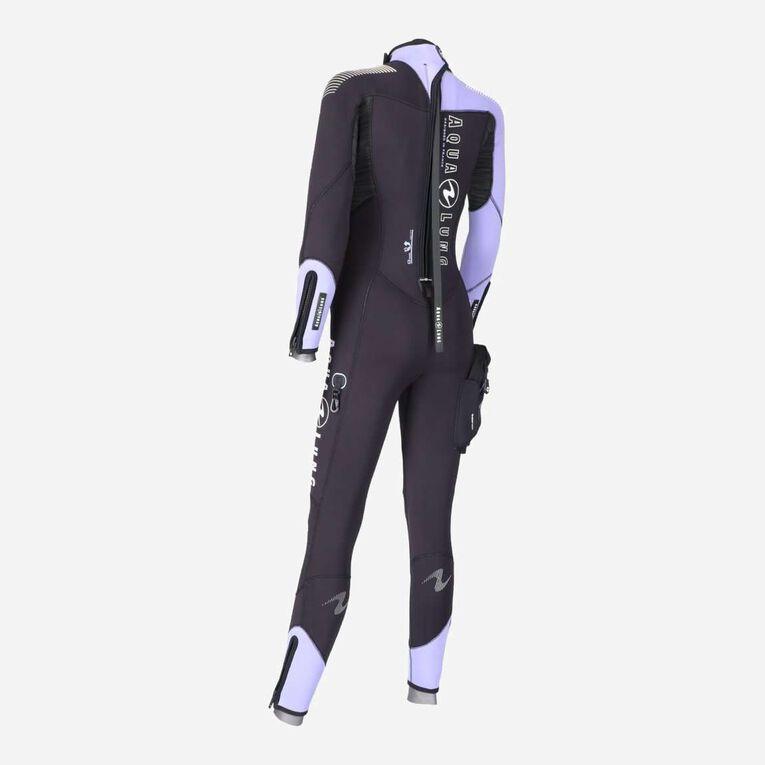 DynaFlex 7mm Wetsuit Women, Black/Purple, hi-res image number 3