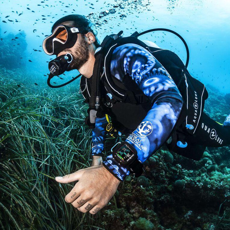 HydroFlex 3mm Coral Guardian Wetsuit Men, Black/Blue, hi-res image number 4
