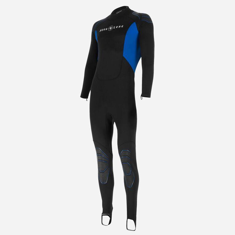 Skinsuit 0,5mm Men, Black/Blue, hi-res image number 1