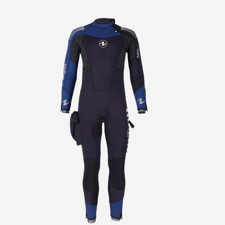 DynaFlex 5.5mm Wetsuit Men, Black/Navy blue, hi-res image number 0