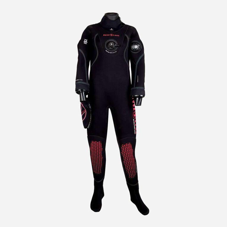 Blizzard Pro Drysuit, Black/Coral, hi-res image number 0