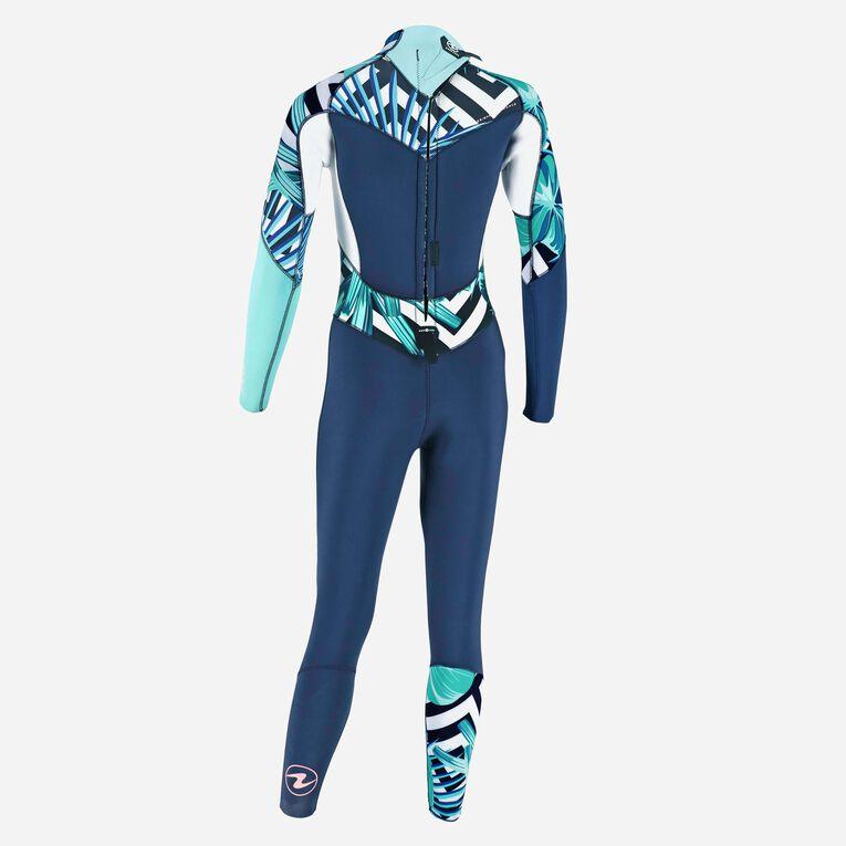 Xscape 4/3mm Wetsuit - Women, Navy blue/Multicolor, hi-res image number 3