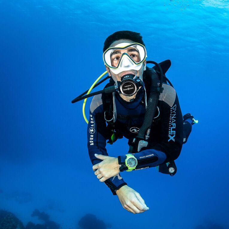 DynaFlex 5.5mm Wetsuit Men, Black/Navy blue, hi-res image number 4