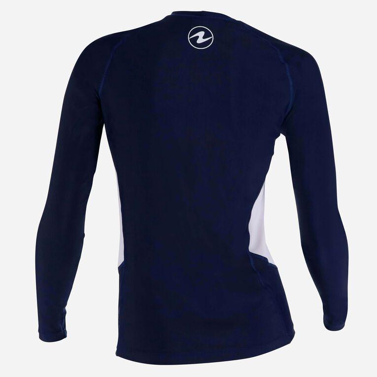 Rashguard Loose fit Long sleeves - Women, Navy blue/White, hi-res image number 3