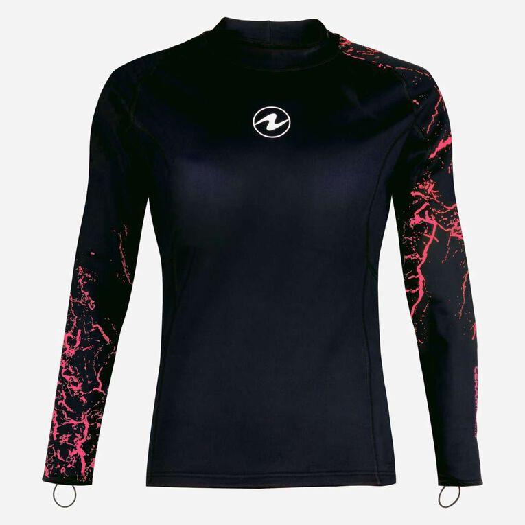 CeramiQskin Long Sleeves Top Women, Black/Coral, hi-res image number 0