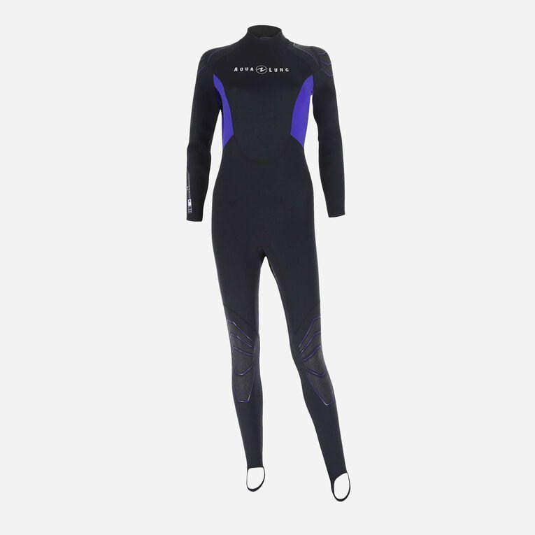 Skinsuit 0,5mm Women, Black/Purple, hi-res image number 0