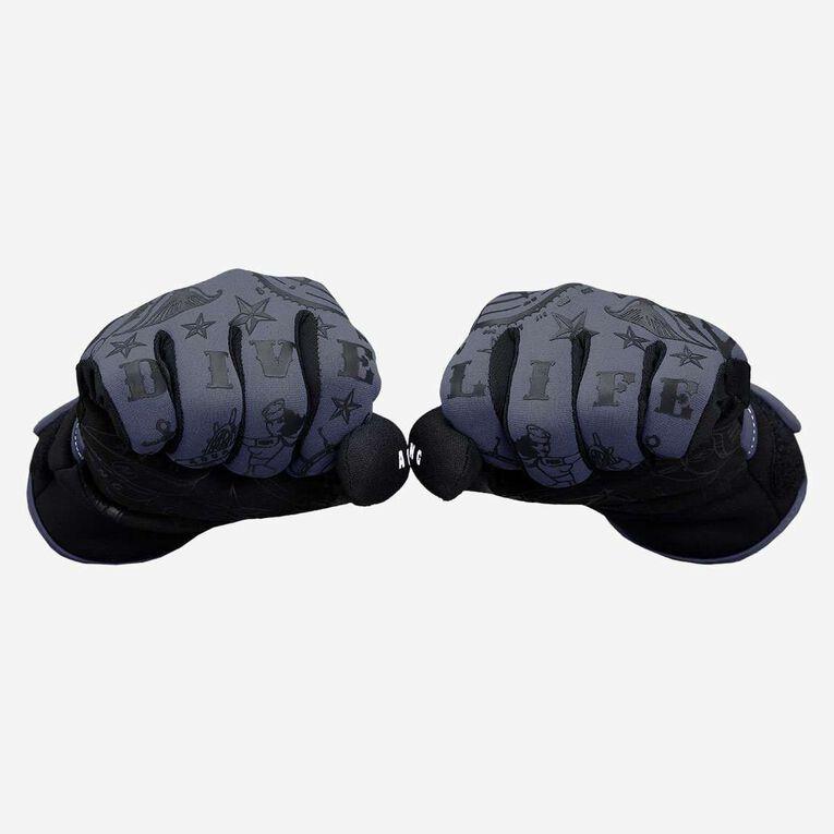 Admiral III 2mm Gloves, Dark grey/Black, hi-res image number 1