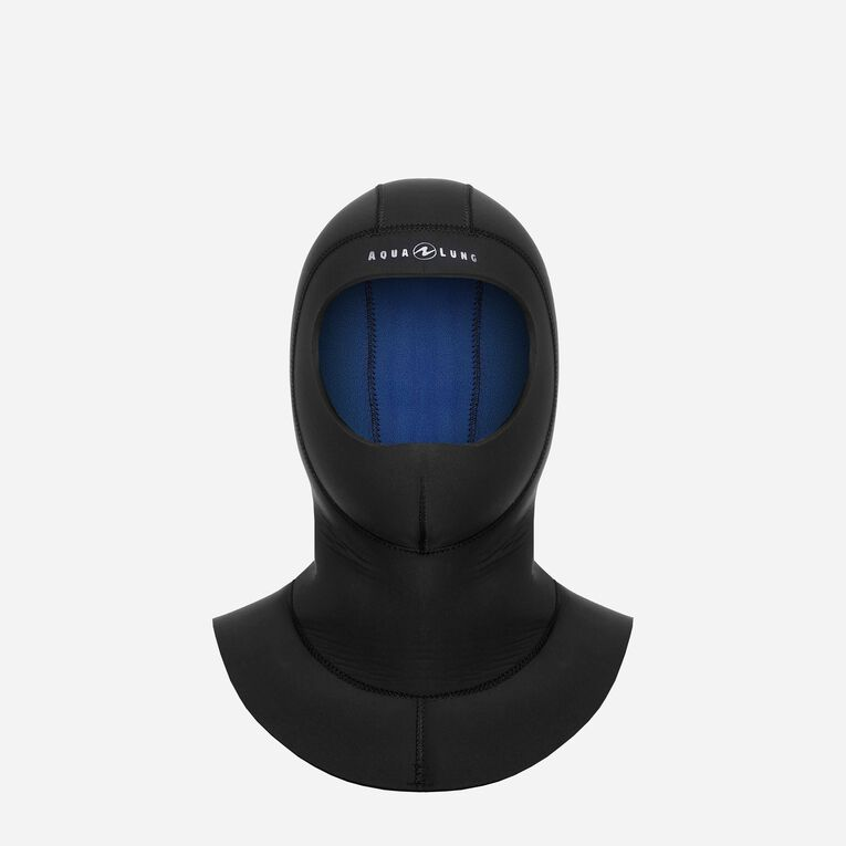 Seawave Flex 7/4mm Hood, Black/Blue, hi-res image number 0