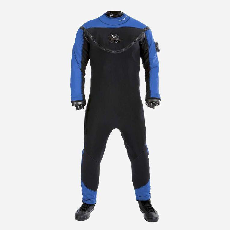 Fusion Xscape Drysuit, Black/Blue, hi-res image number 0