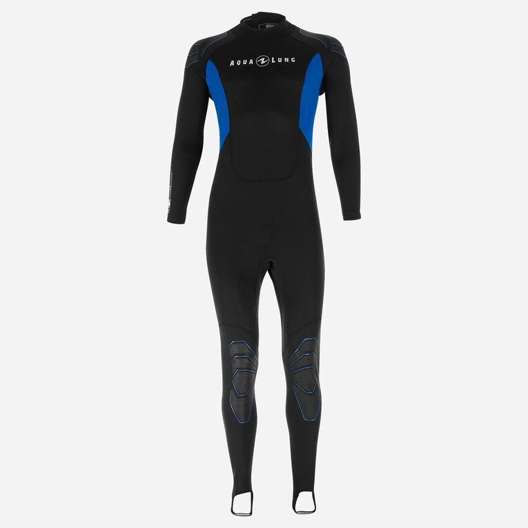 Skinsuit 0,5mm Men, Black/Blue, hi-res image number 0