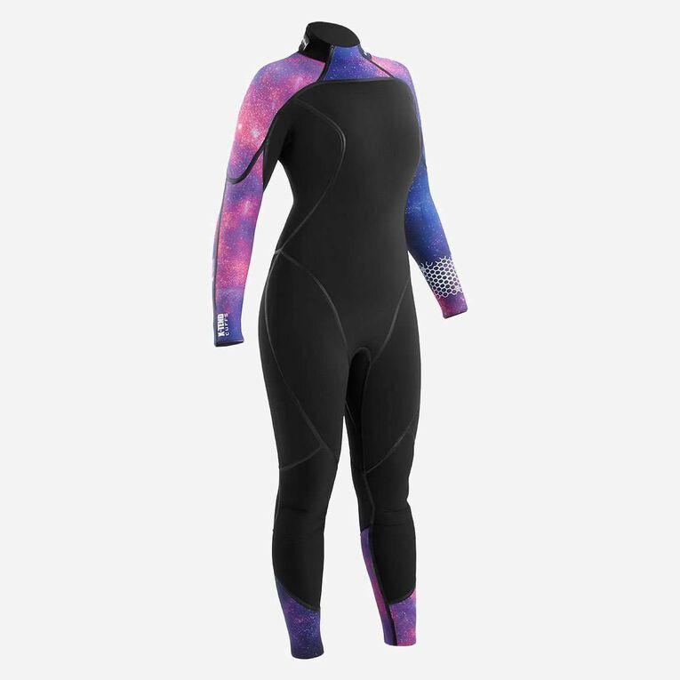 AquaFlex 5mm Wetsuit - Women, Black/Twilight, hi-res image number 0