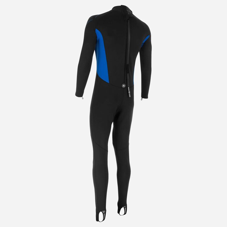 Skinsuit 0,5mm Men, Black/Blue, hi-res image number 2