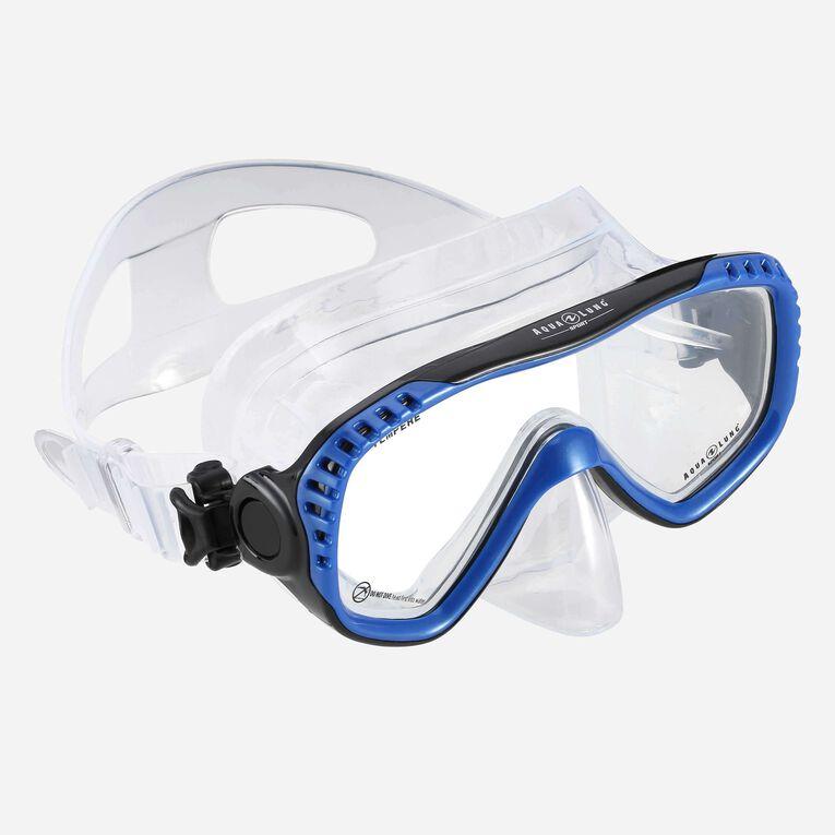 Compass Snorkeling mask, Blue/Black, hi-res image number 0