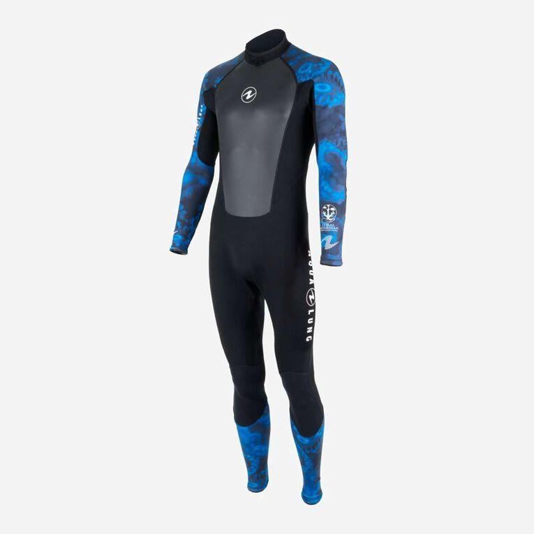 HydroFlex 1mm Coral Guardian Wetsuit Men, Black/Blue, hi-res image number 2