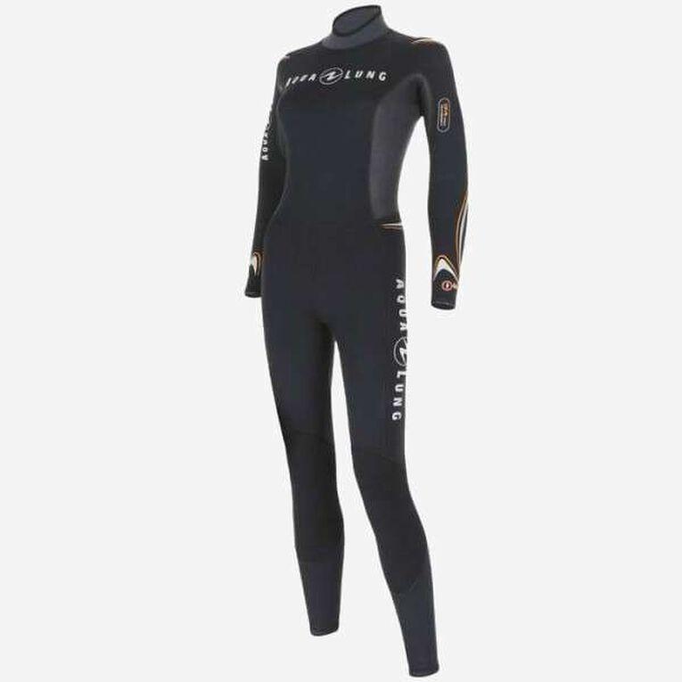 Dive 5,5mm Wetsuit, Black/Orange, hi-res image number 2