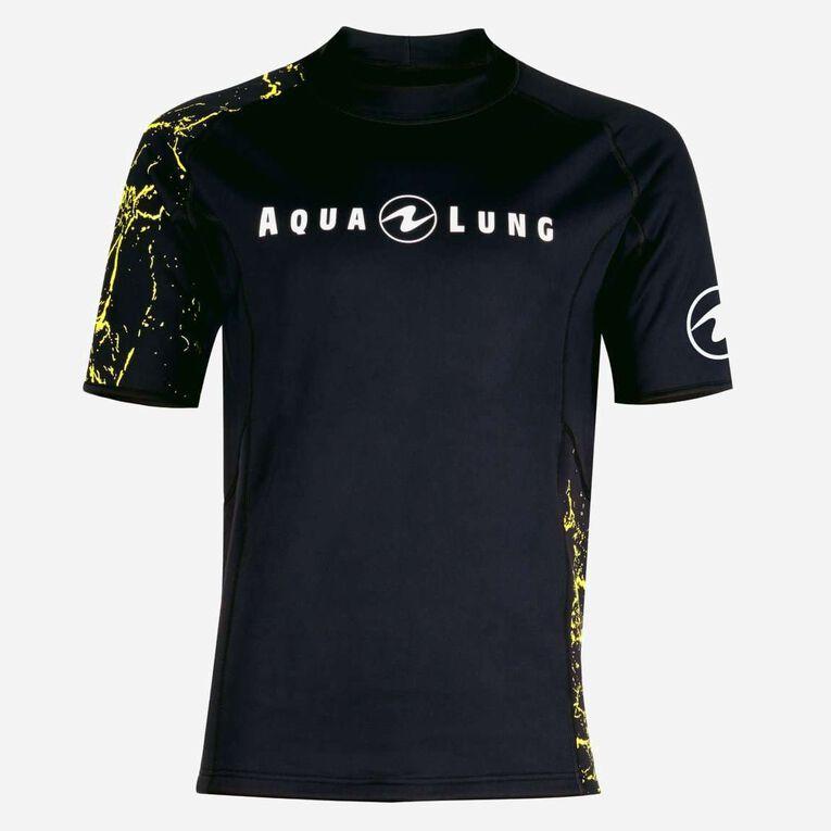 CeramiQskin short sleeves Top - Men, Black/Hot lime, hi-res image number 0